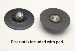 Spiralcool R700-R Disc Pad Face Plate Ribbed