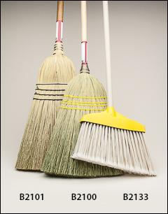 Push brooms, brooms