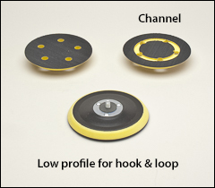 Hook and loop backing pads - Hook and loop pads