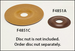 Reinforced phenolic backing plates - Phenolic, plastic pads